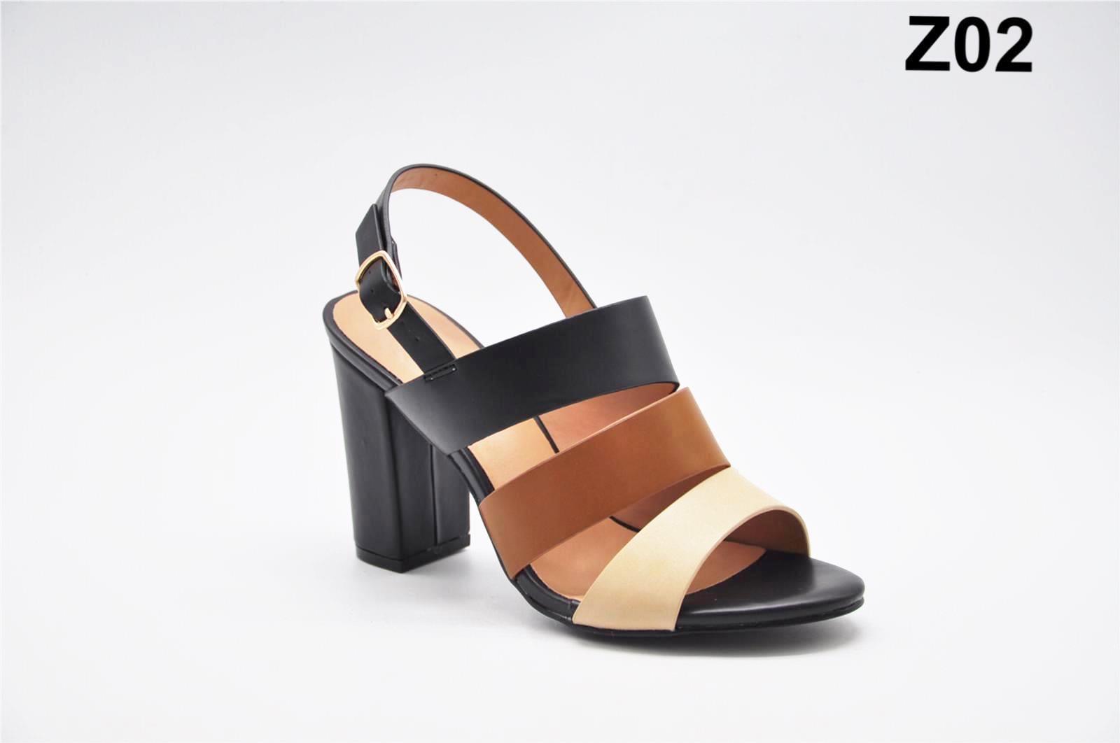 Sandale dama negre Flory