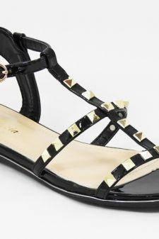 Sandale dama negre Galena