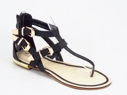 Sandale dama negre Herga