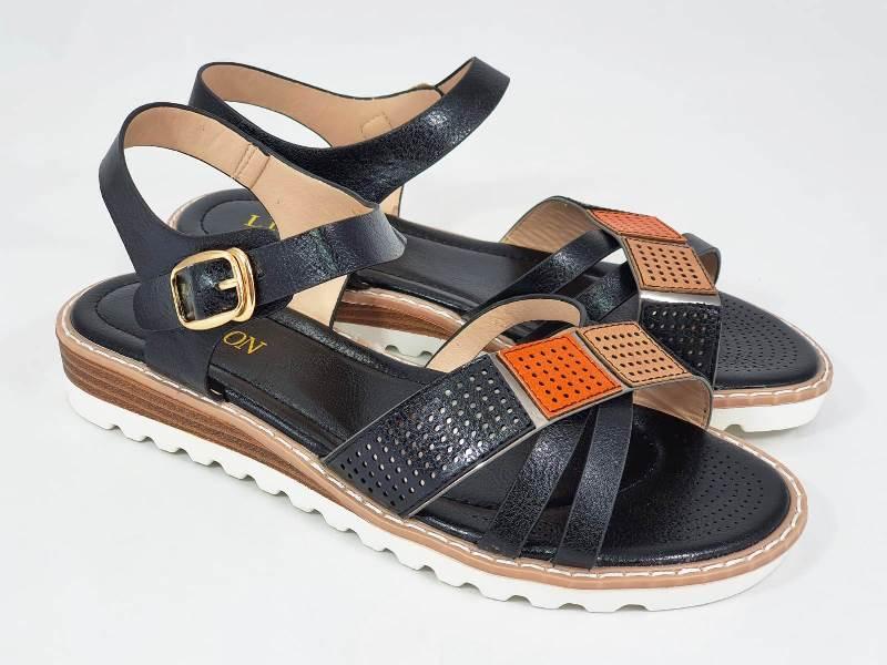 Sandale dama negre Irina