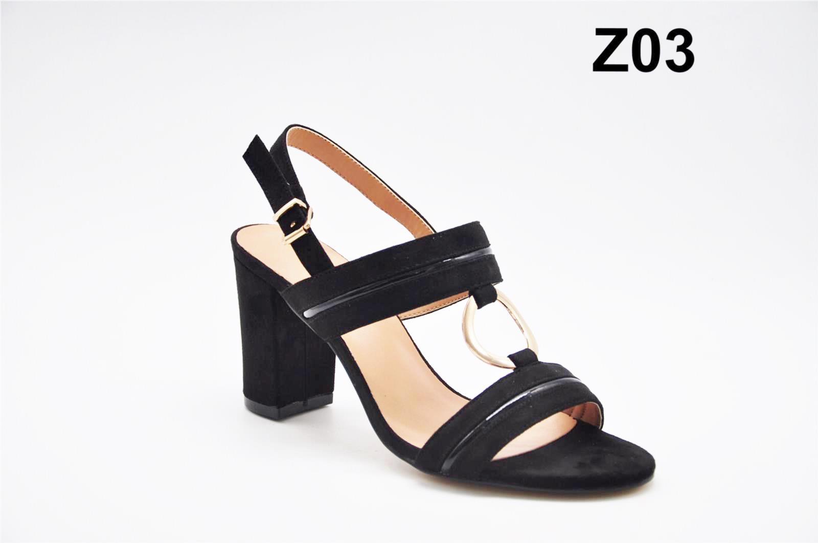 Sandale dama negre Katy