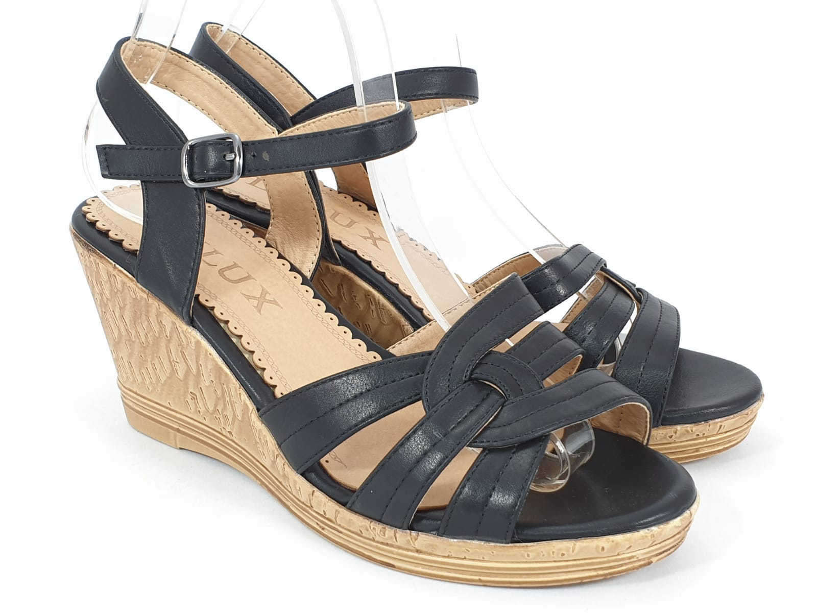 Sandale dama negre Lori