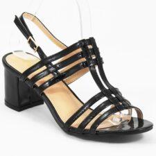 Sandale dama negre Mara