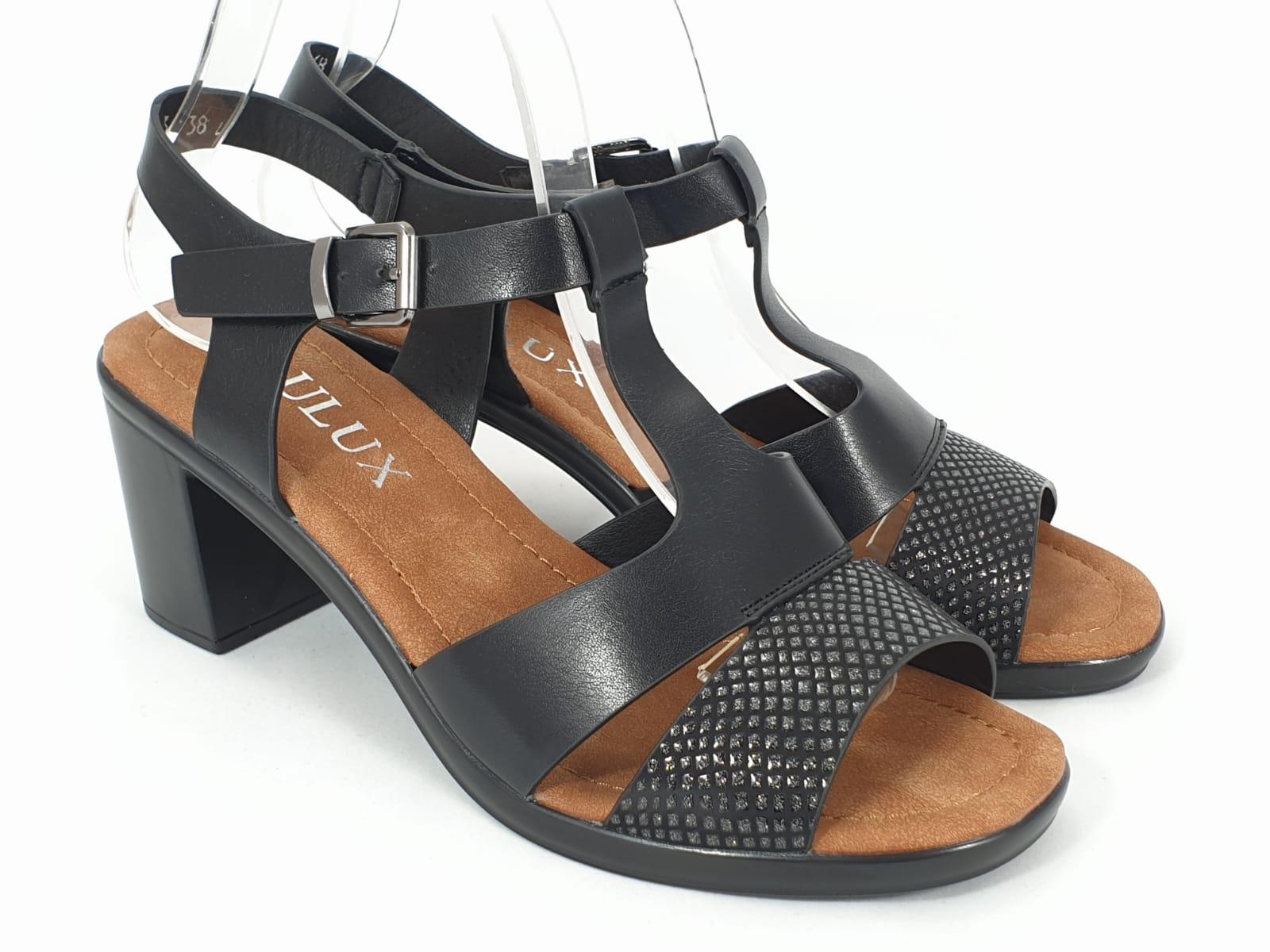 Sandale dama negre Margareta