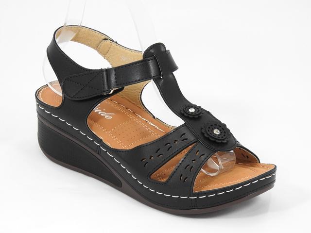 Sandale dama negre Miria