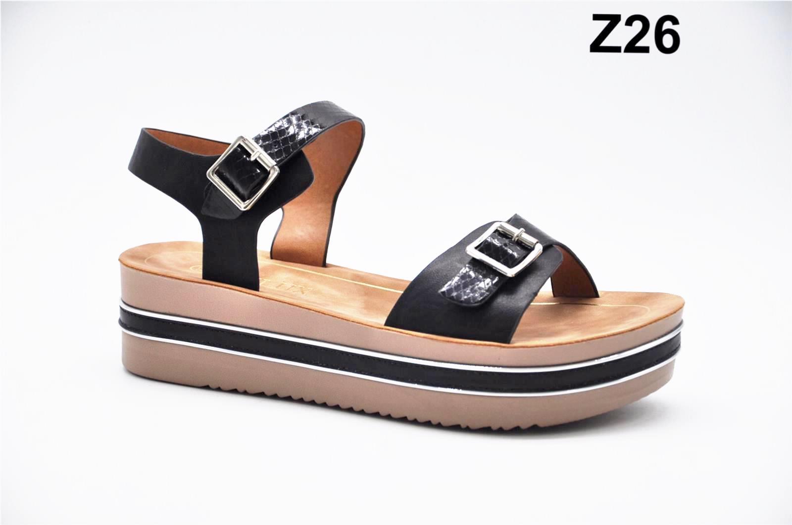 Sandale dama negre Monica2