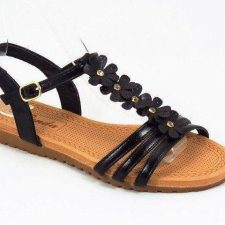 Sandale dama negre Nico