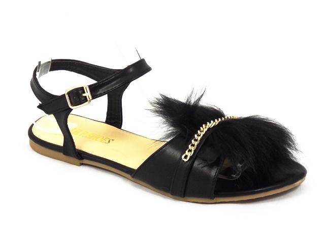 Sandale dama negre Nikola2