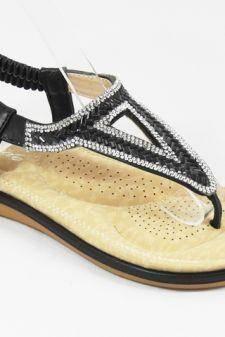 Sandale dama negre Noly
