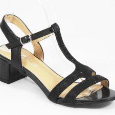 Sandale dama negre Nona