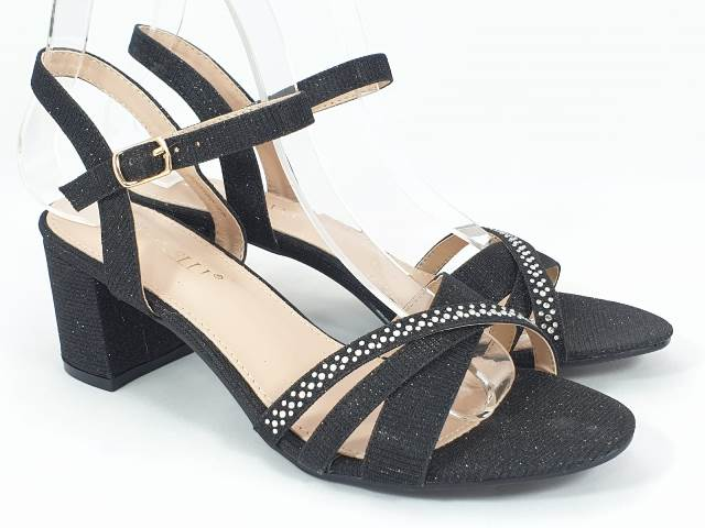 Sandale dama negre Nora