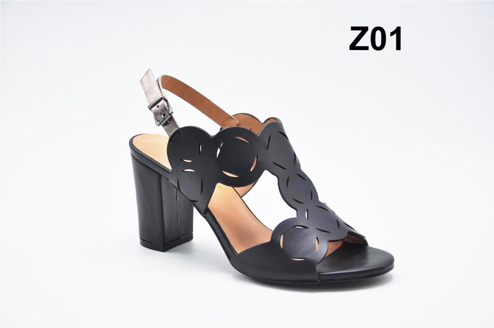 Sandale dama negre Olina