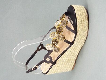 Sandale dama negre Siryna