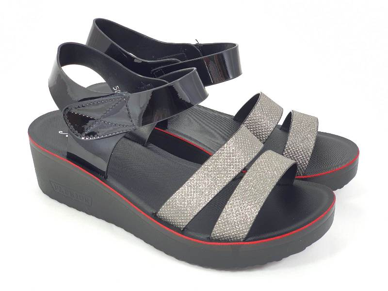 Sandale dama negre Sora