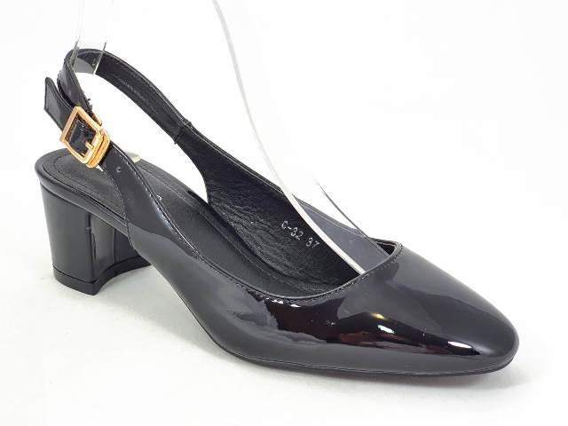 Sandale dama negre Tania