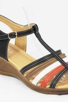 Sandale dama negre Teodora1