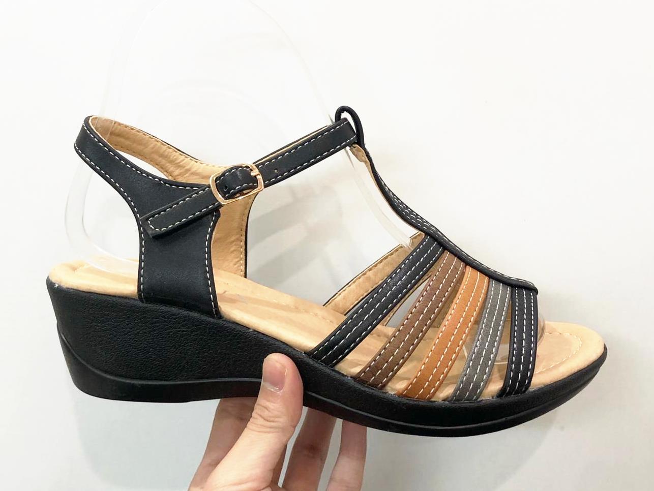 Sandale dama negre Teodora2