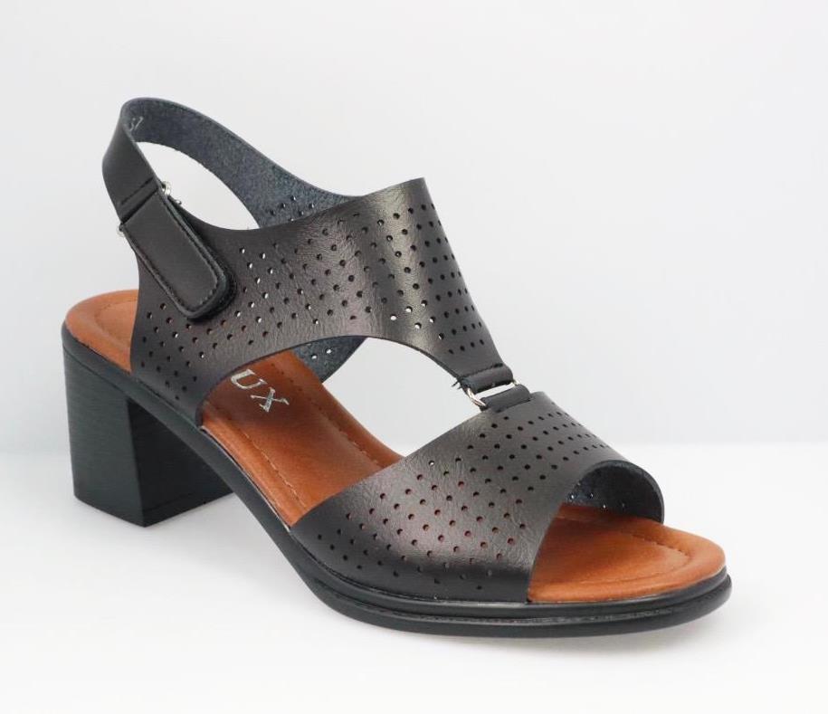 Sandale dama negre Tina