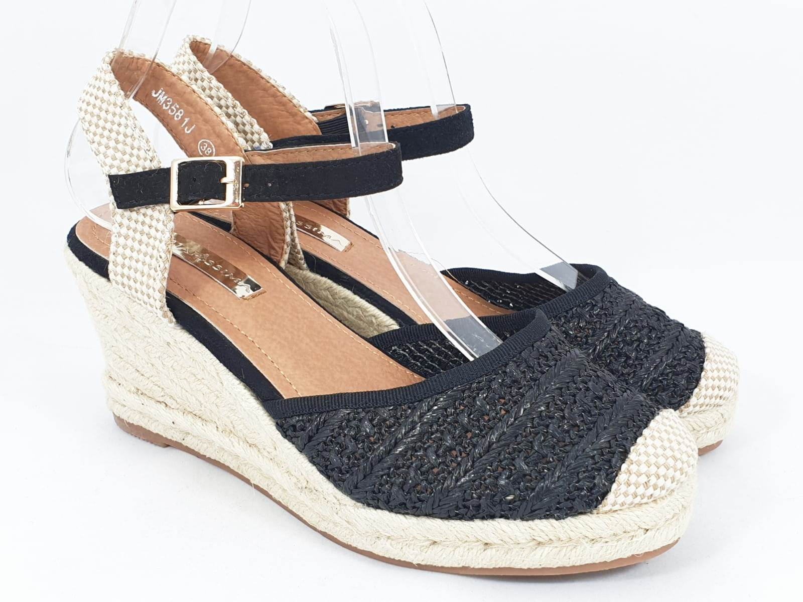 Sandale dama negre Tora