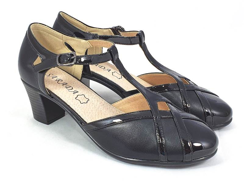 Sandale dama negre Tora2