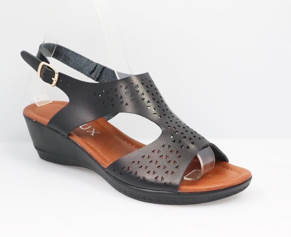 Sandale dama negre Tori