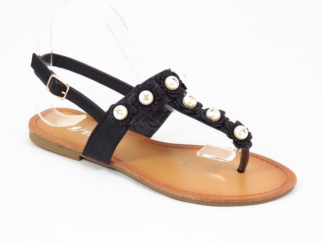 Sandale dama negre Valeria