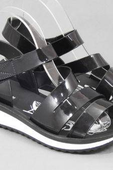 Sandale dama negre Verona