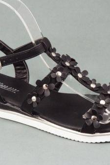Sandale dama negre Zola
