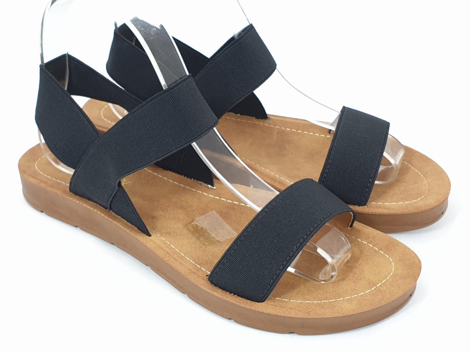 Sandale dama negre Zore