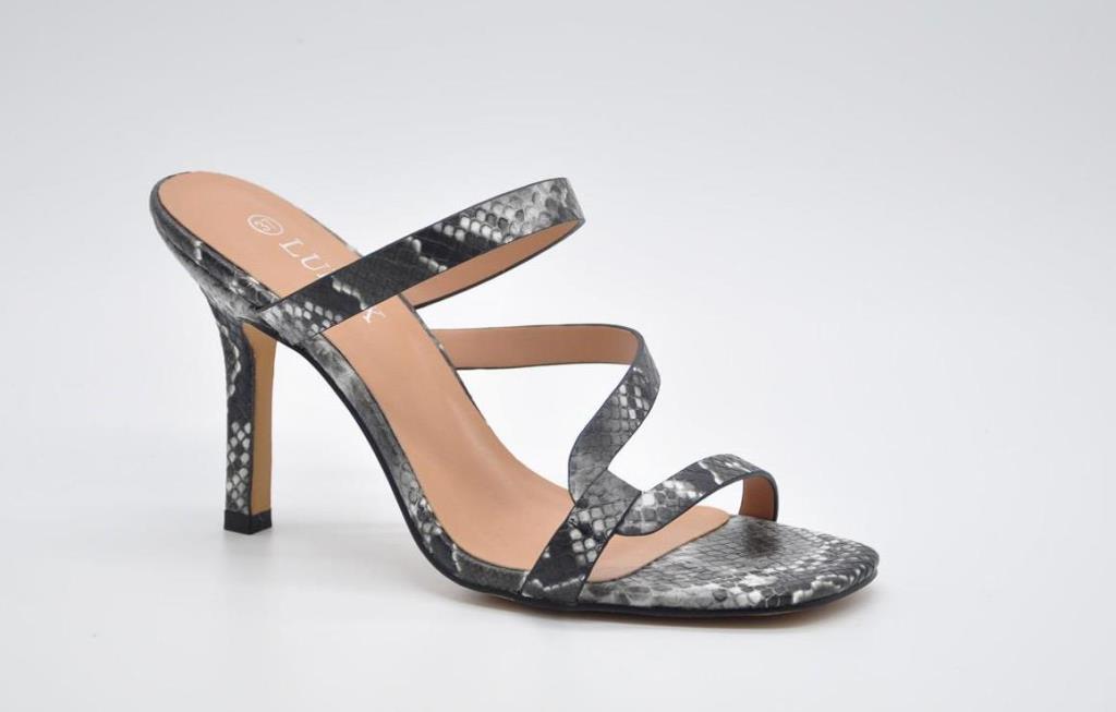 Sandale dama negru pastel Doina