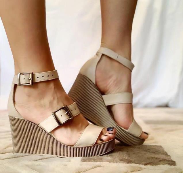 Sandale dama piele bej Olga