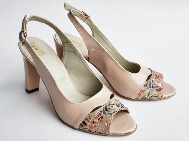 Sandale dama piele bej Zoia