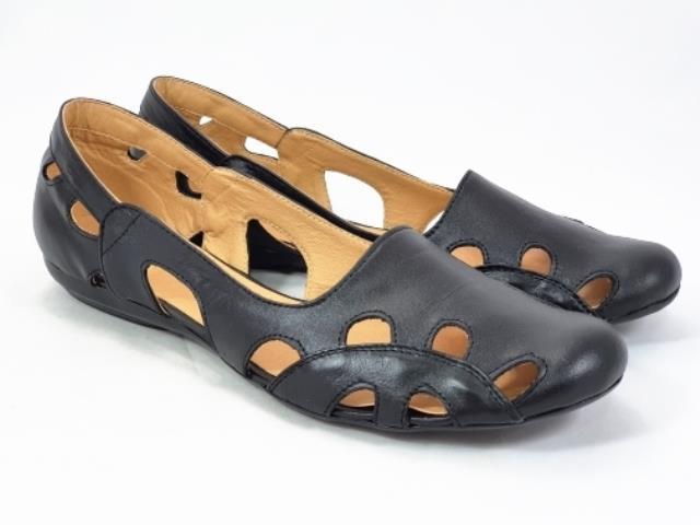Sandale dama piele negre Ana