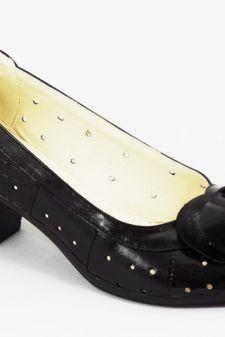 Sandale dama piele negre Anita