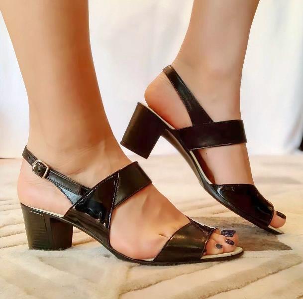 Sandale dama piele negre Sandra2