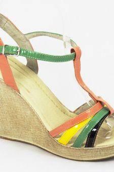 Sandale dama piele pastel Ana1