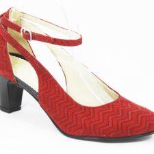 Sandale dama piele rosii Adina