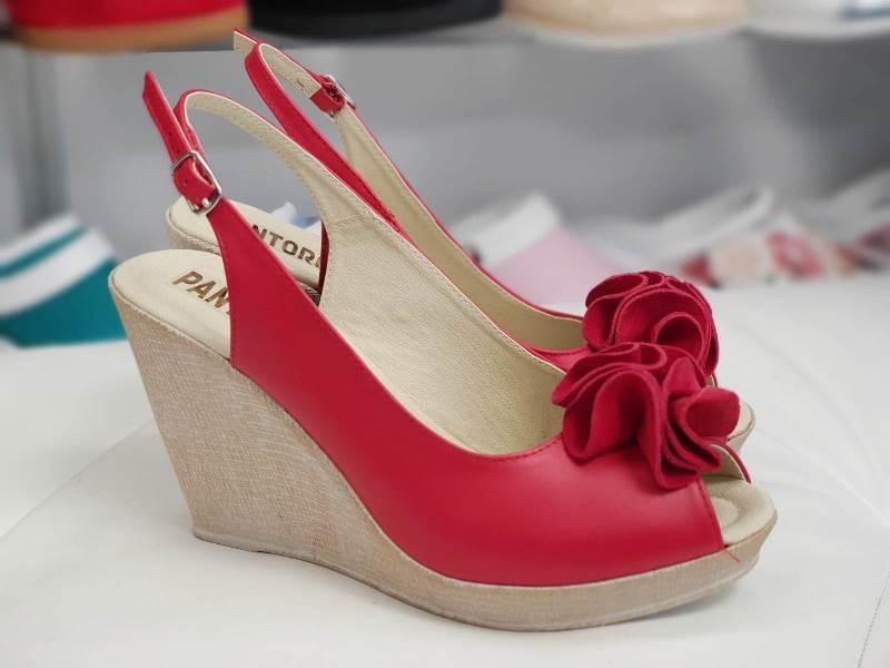 Sandale dama piele rosii Ana2