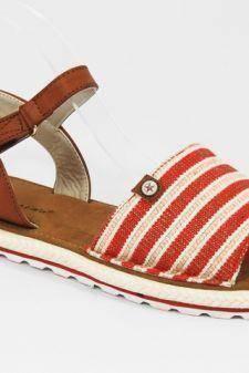 Sandale dama rosii Bata