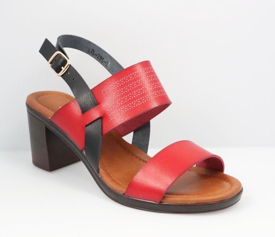 Sandale dama rosii Estera