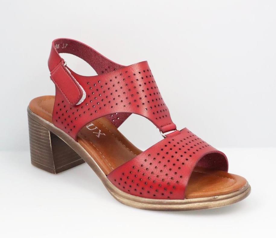 Sandale dama rosii Tina