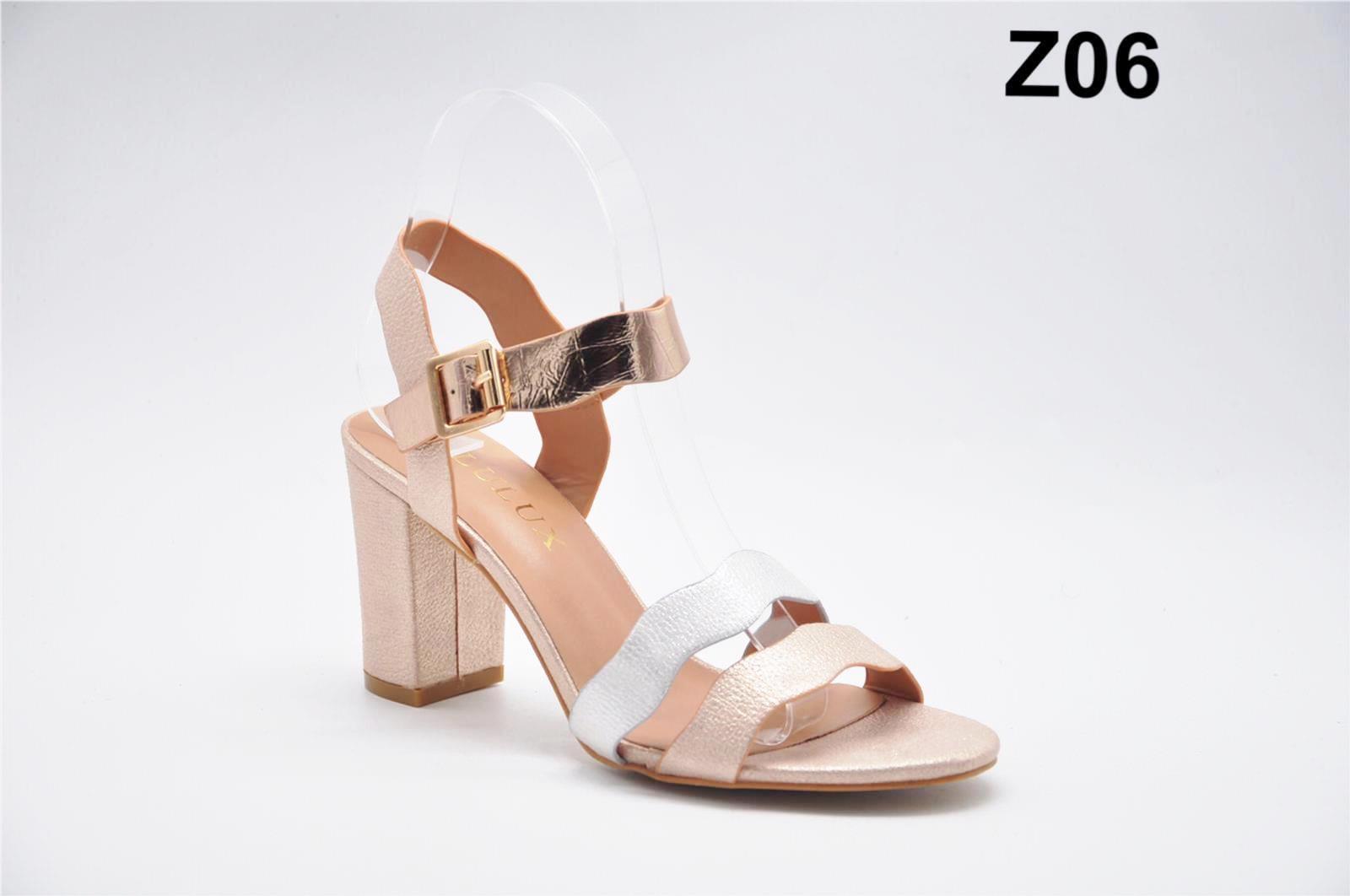 Sandale dama roz aurii Erika