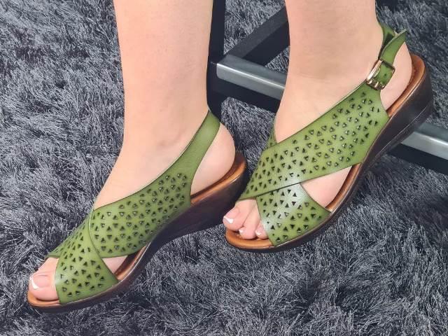 Sandale dama verzi Zoia