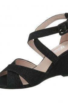 Sandale din material textil