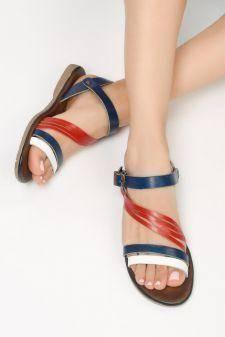 Sandale piele naturala Alata Navy