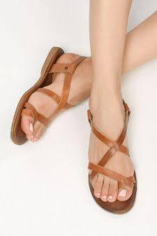 Sandale piele naturala Novella Maro