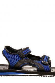 Sandale unisex Genes negru cu albastru